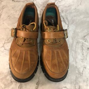 Polo low top lace up boot